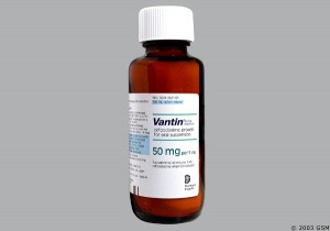 Vantin antibiotic