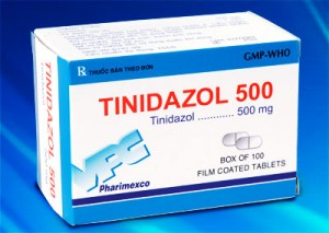 Tinidazol: for treatment of protozoan infections