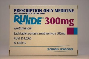 Rulide is an antibiotic