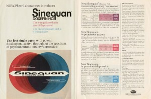 Sinequan Indications