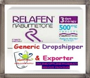 Relafen has anti-inflammatory, analgesic and antipyretic effect. Relafen is used in the treatment of various inflammatory diseases