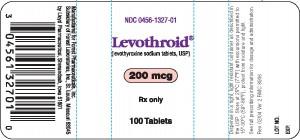 LEVOTHROID levothyroxine sodium tablet.