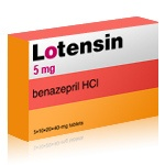 Lotensin - patient information, description, dosage