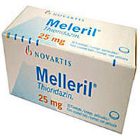 Mellaril or Melleril) is a piperidine typical antipsychotic drug belonging to the phenothiazine drug group and was previously widely used in the treatment of schizophrenia and psychosis
