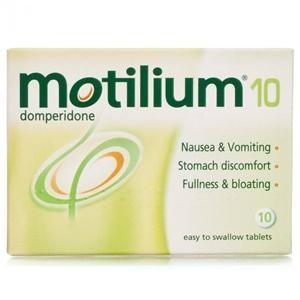 Motilium 10mg 10 Pack