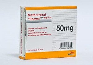 Methotrexate is an antimetabolite used to treat certain types of cancer
