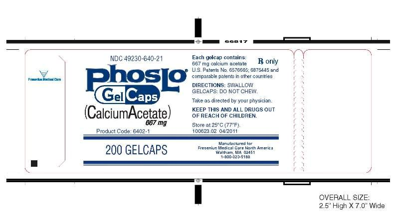 Phoslo is a mineral. It is used to treat kindny failure in late stage. It works reducing phosphate leves. Package. Price. Per Pills.