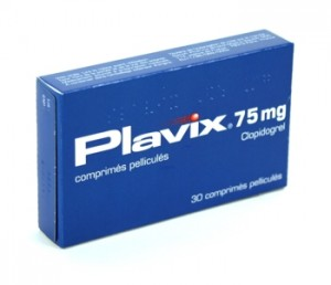 Plavix - antiaggregant. Is a prodrug and an active metabolite which is an inhibitor of platelet aggregation.
