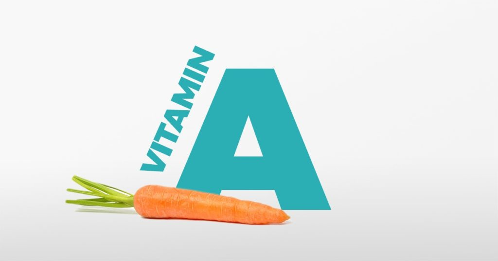 Vitamin A retinol hair loss